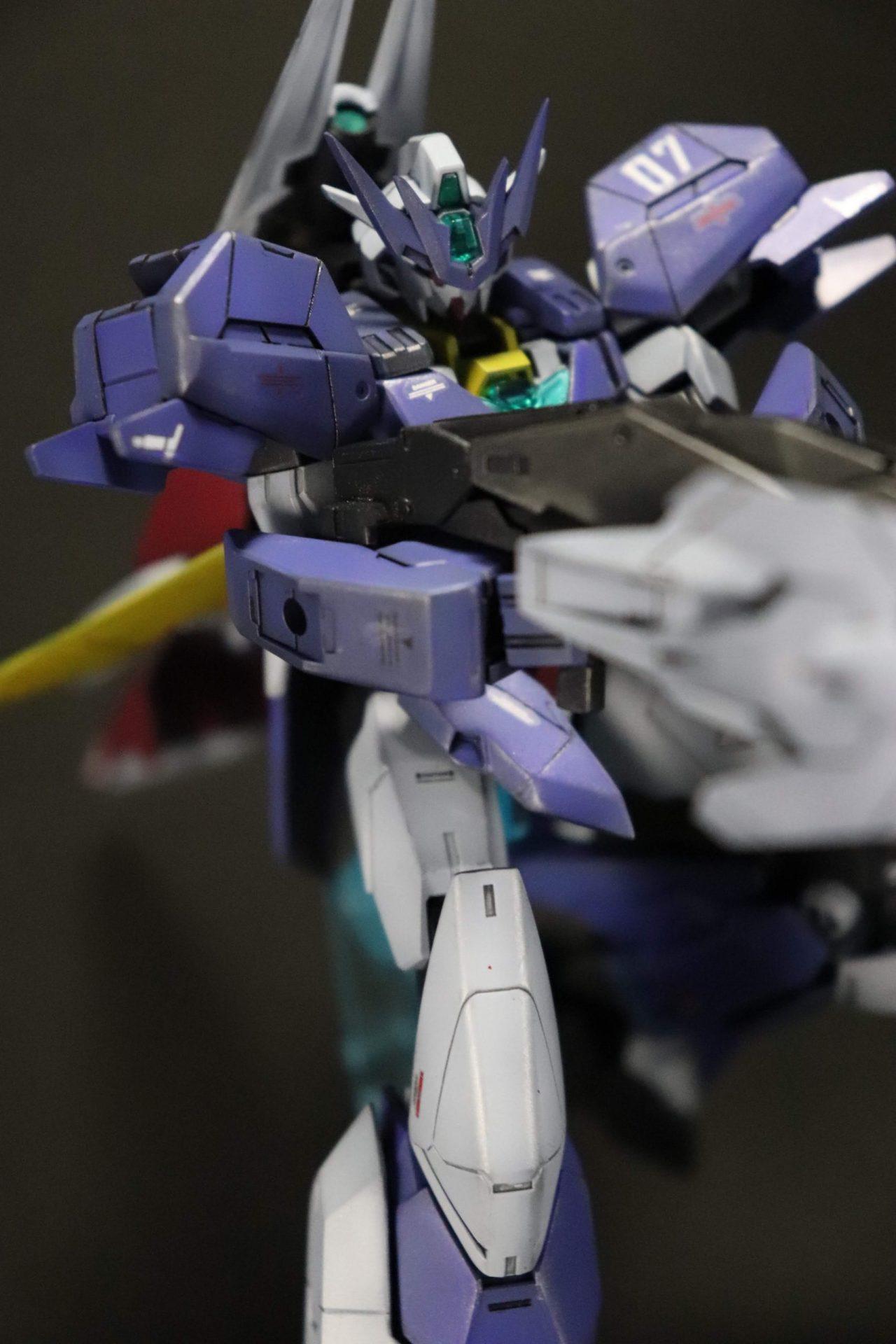 ビームシュートライフルU7狙撃シーン