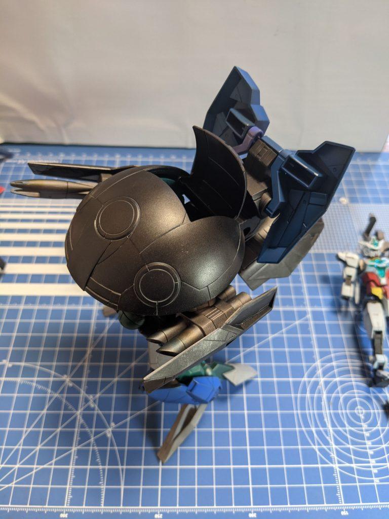 ウォドムポッド+の装甲をオープンしています。