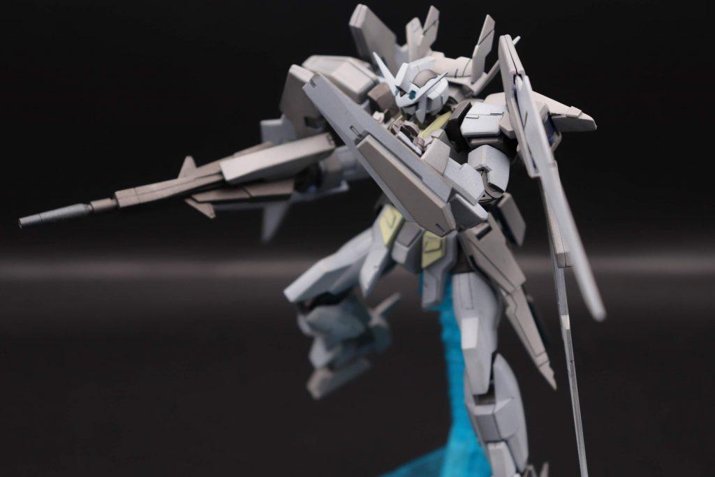 ガンダムAGE-2ハイパードッズライフルシールド射撃