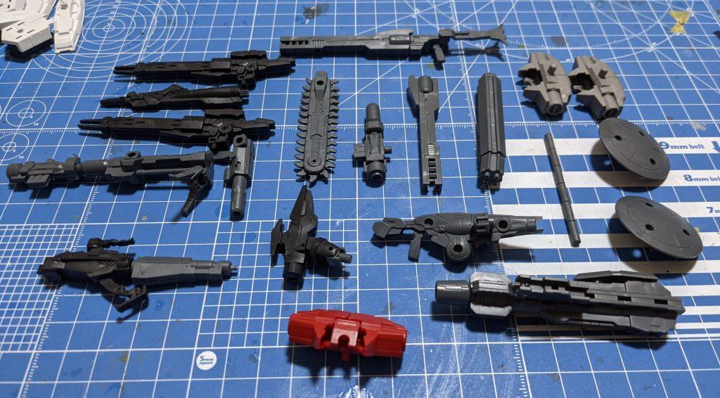 30mmの武装類
