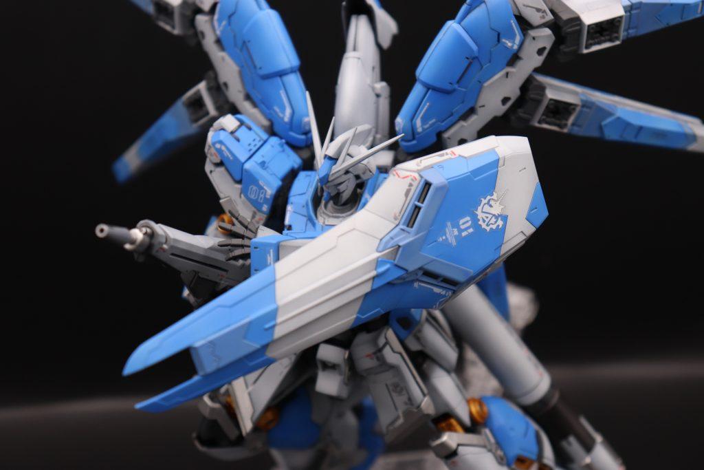 RG 1/144 Hi-νガンダム全塗装