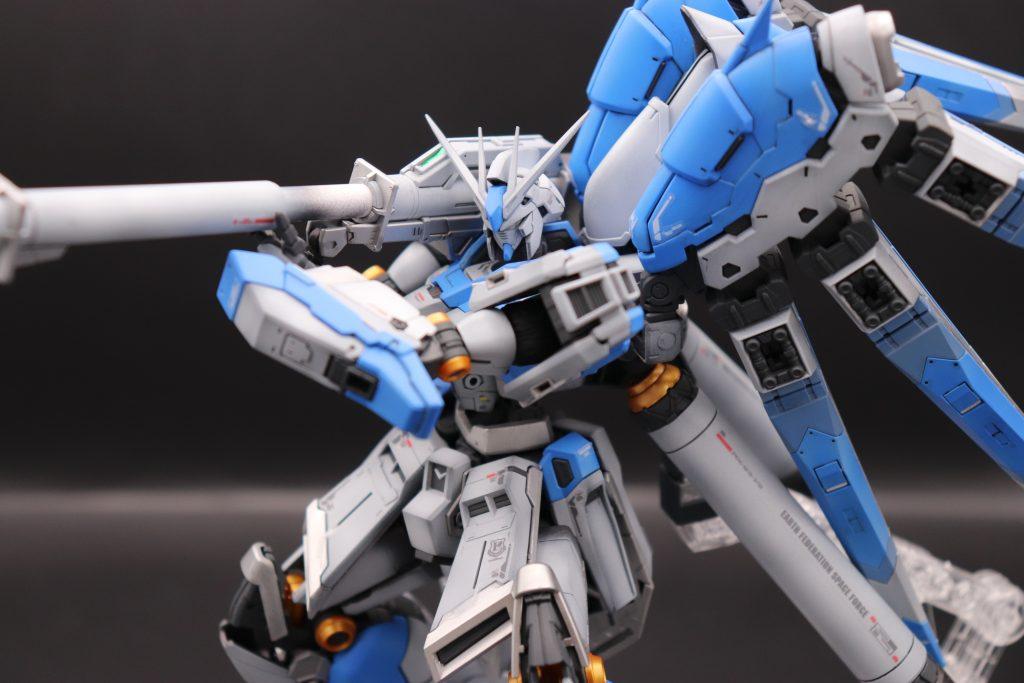 RG 1/144 Hi-νガンダム全塗装 ハイパー・バズーカ