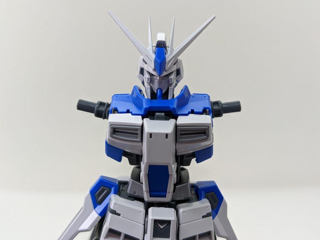 RG 1/144 Hi-νガンダム頭部と胸部パーツ